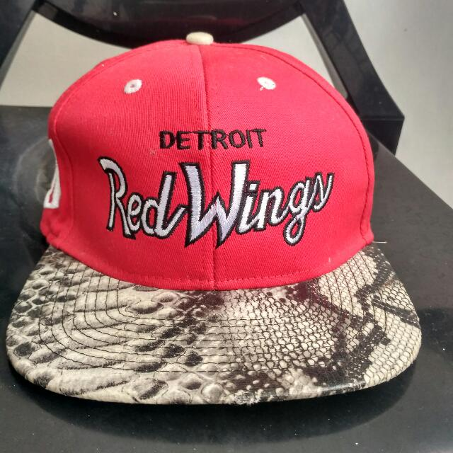 MITCHELL & NESS DETROIT RED WINGS SNAKESKIN