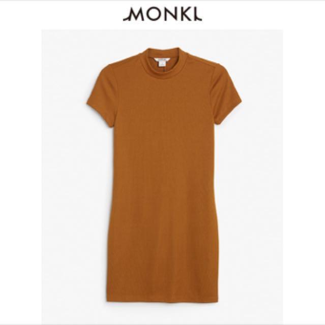 Monki Turtleneck Mini Dress