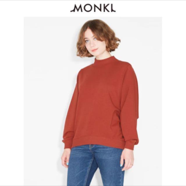 Burnt Orange Monki Sweater