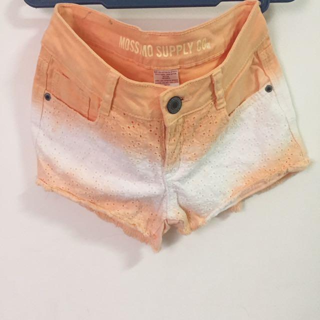 Mossimo Orange Shorts