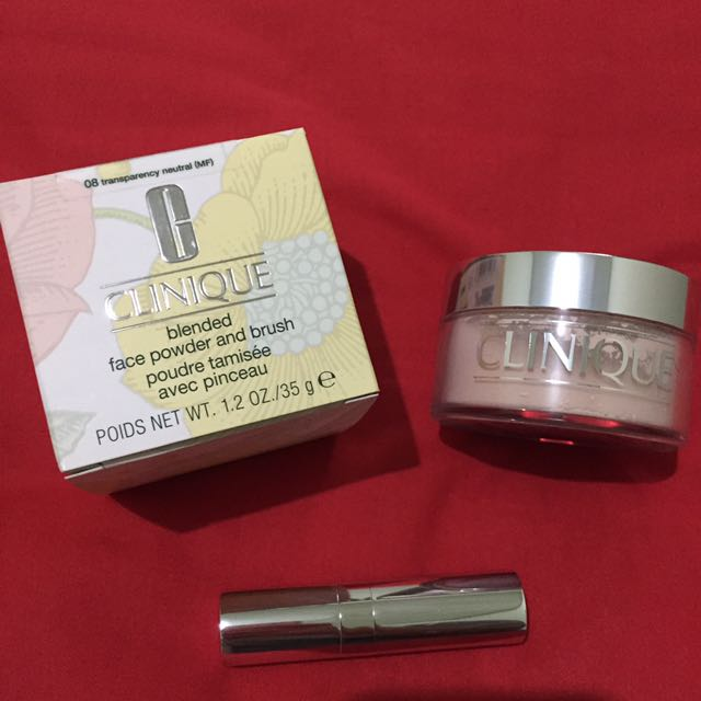 [NEW] CLINIQUE blended Face Powder And Brush