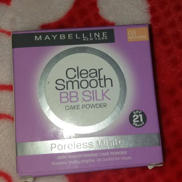 (NEW) Maybelline Clear Smooth BB Silk Poreless (Shade Natural)