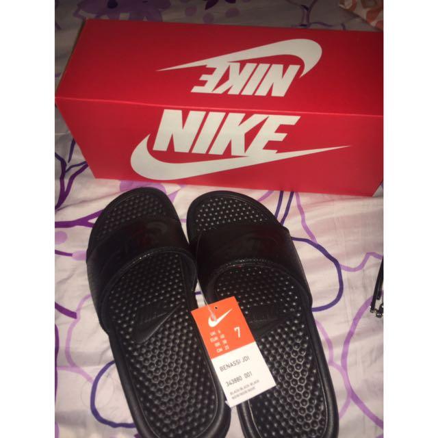 Nike Benassi JDI ALL BLACK Slides