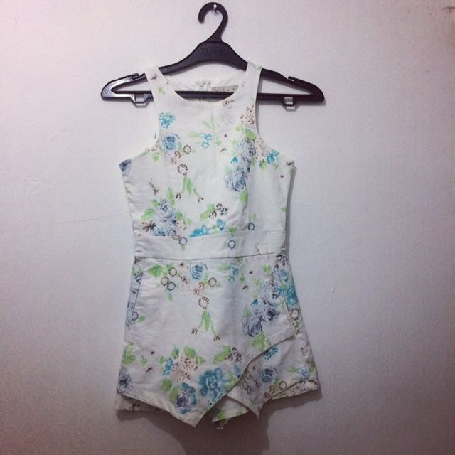 N.y.L.a Floral Jumpsuit