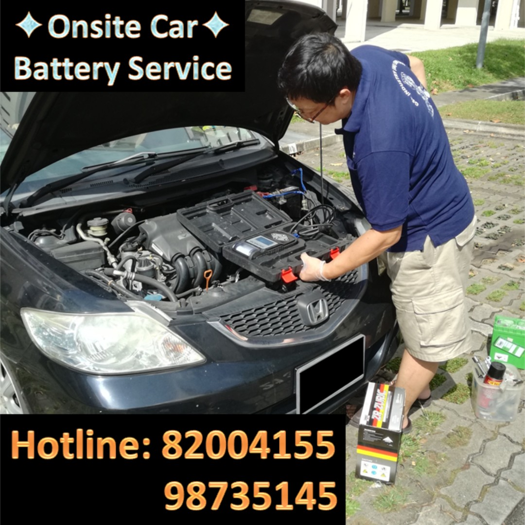 Onsite Car Battery Rescue