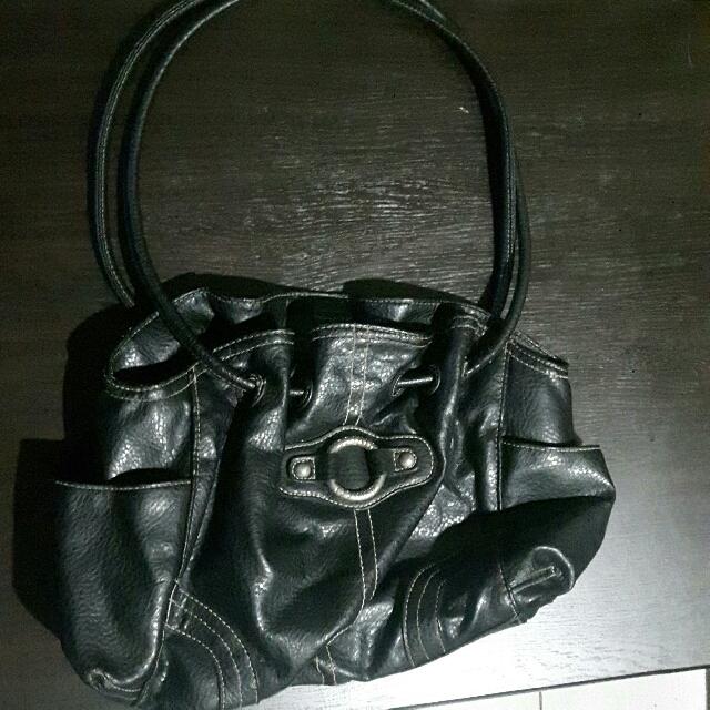 Payless Black Shoulder Bag
