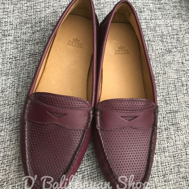 "Peter Millar ""Lisa Classic Perforated Loafer"""