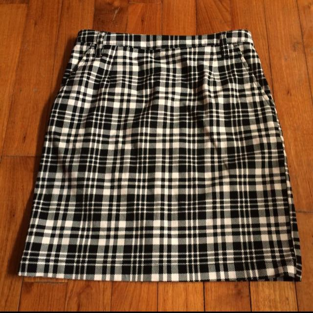 Plaid Skirt Lowrys Farm