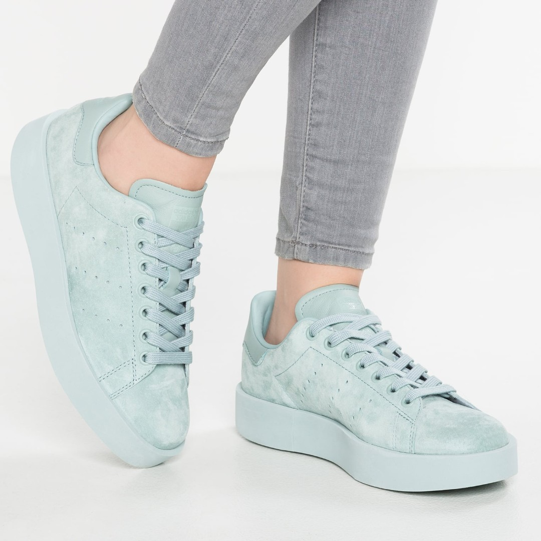 mieux aimé 0e05b 1341d PO) Adidas Womens Stan Smith Platform Mint Green, Bulletin ...