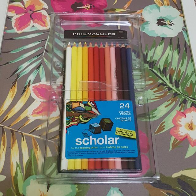 Colored Pencils Prisma Scholar In 24s