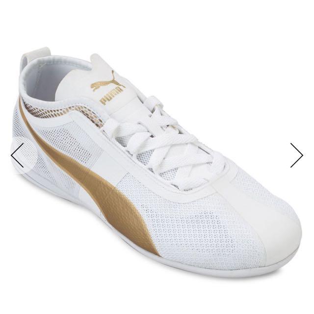 Puma Eskiva Low EVO White-Gold Women's