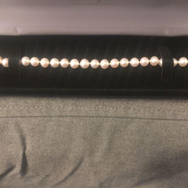 Real Salt Walter Pearl String Bracelet