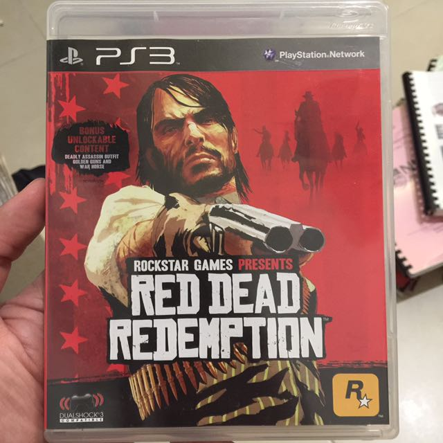 Red Dead Redemption (PS3), Toys & Games, Video Gaming, Video