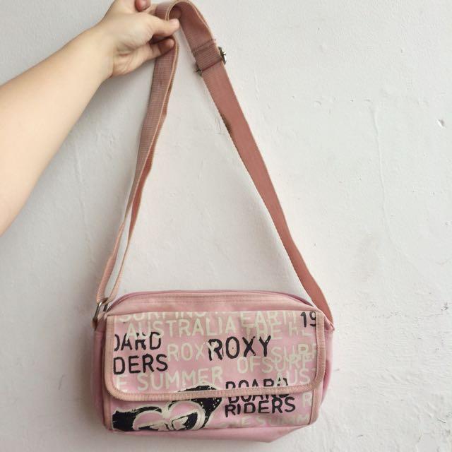 Roxy Pink Slingbag