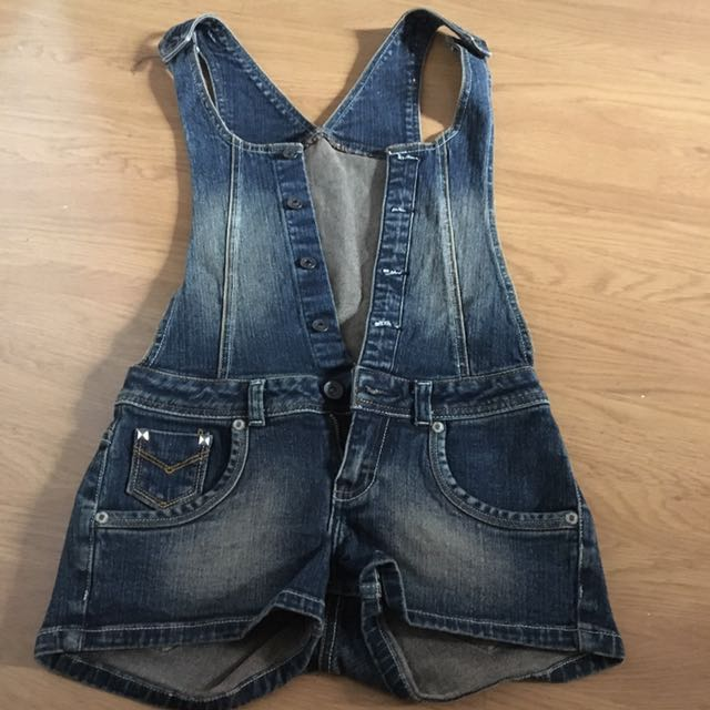 Rumper Maong Shorts Small Size