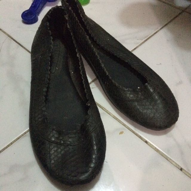 Sepatu Kulit Ular Asli