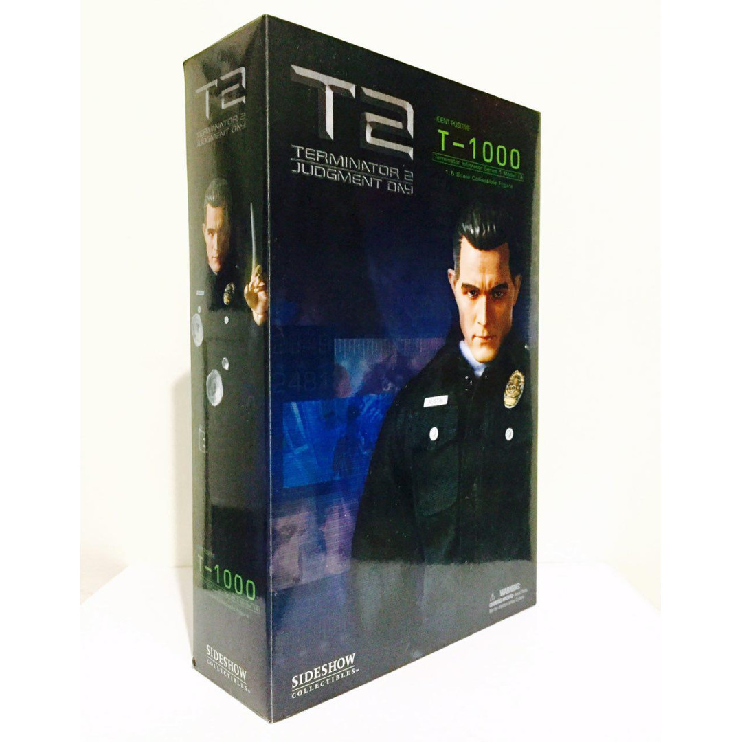 SIDESHOW COLLECTIBLES 1/6 TERMINATOR 2 JUDGMENT DAY - T-1000 - RARE