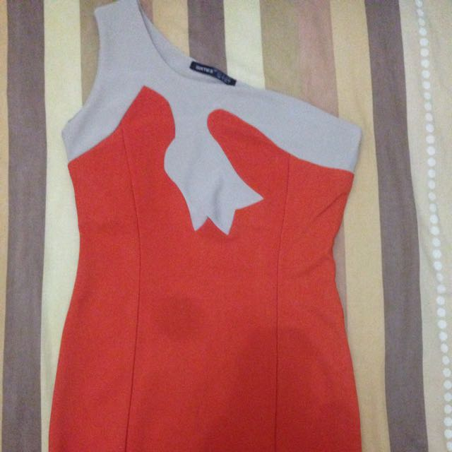 Sixties Dress Orange