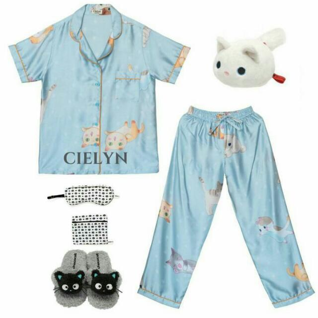 Soft Blue Pijama Set
