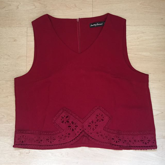 Something Borrowed Red Top