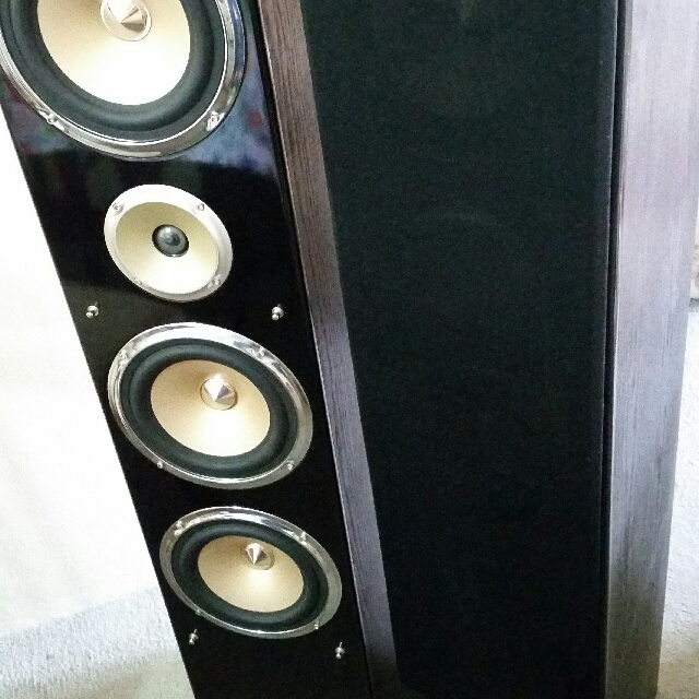 Speaker system by The Brand Of Dream acoustics.