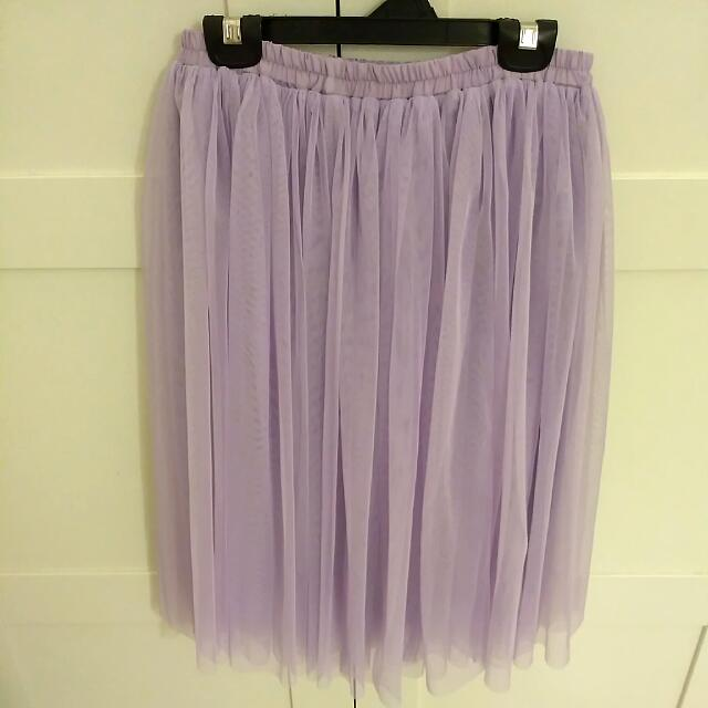Sweet Lavender Purple Tulle Skirt