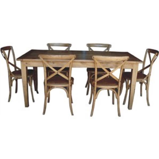 527e3f820a67 Teak Dining Table With Chairs From 1m To 2m .  899 -  1499 Free ...