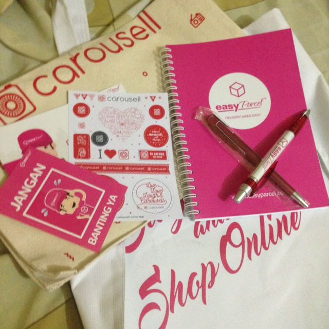 Thank you carousell&easy parcel❤️