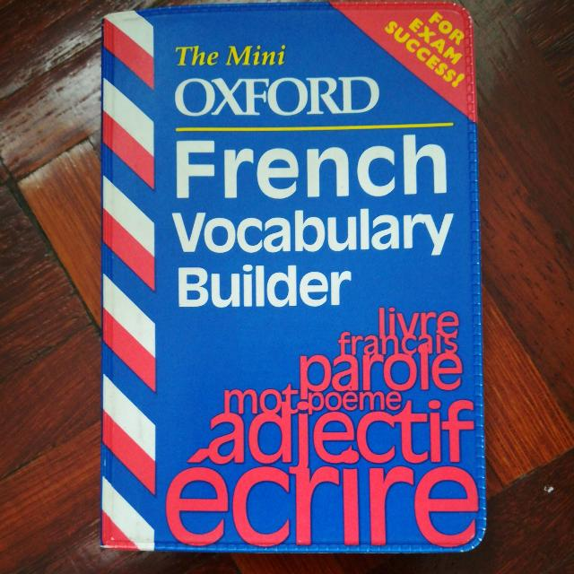 The Mini Oxford French Vocabulary Builder