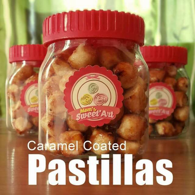 Toasted Caramel Coated Pastillas
