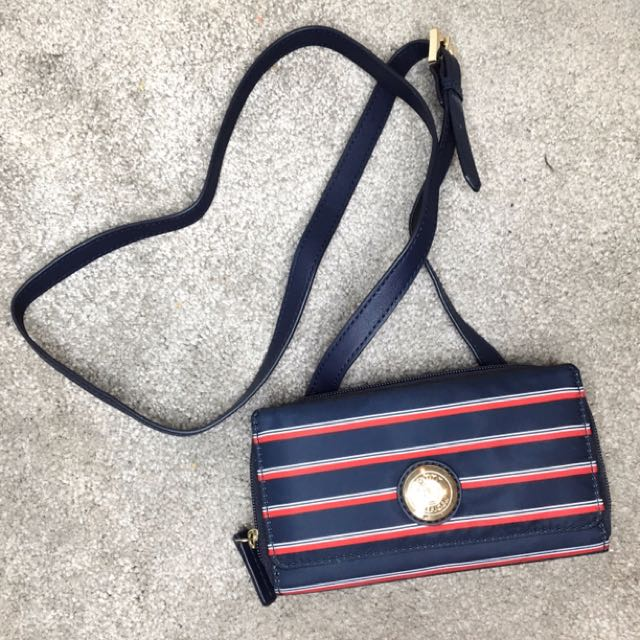 Tommy Hilfiger wallet with straps + phone slot