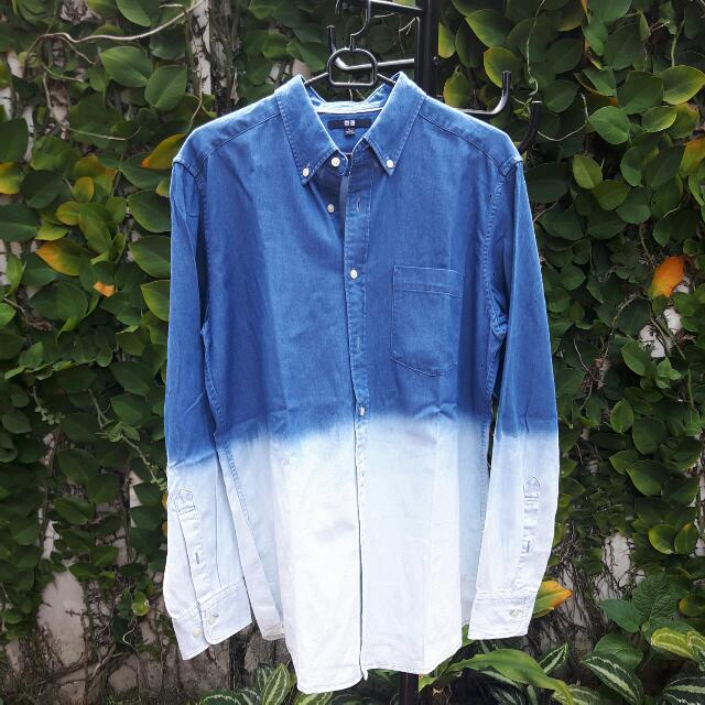 Uniqlo Washed-Jeans Shirt