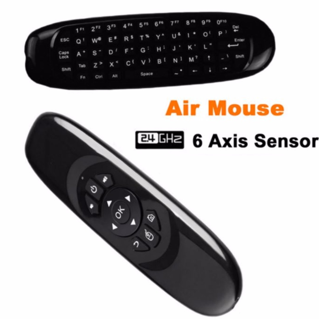 4292068aecb Wireless Air Mouse + Keyboard Remote Controller for Smart TV Box ...