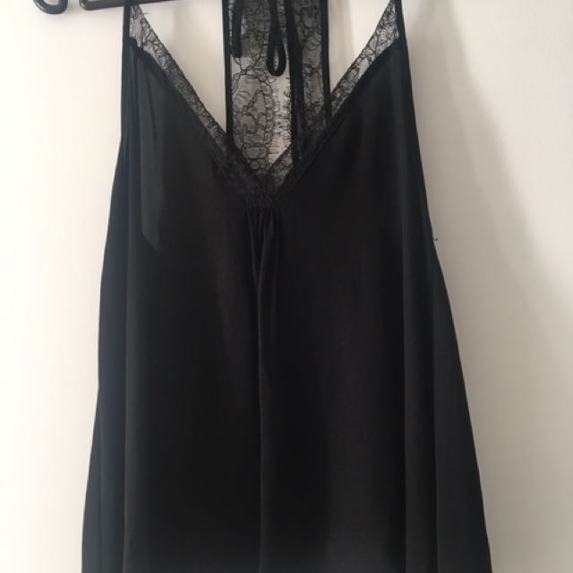 ZARA Lacy Summer Top