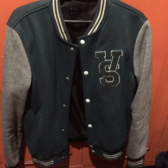 989b118e4 Zara Men Varsity Jacket on Carousell