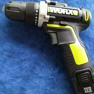 (強力)WORX 12V鋰電手電鑽 家居戶外鑽螺絲首選