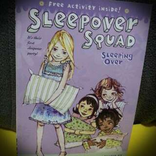 Children's Book: Sleepover Squad