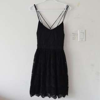 UO Kimchi Blue Fit + Flare Dress