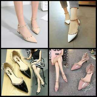 JG- Valentino Flat Sandals