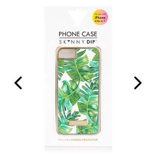 🇬🇧skinnydip iPhone 6/6s/7 適用 葉子🍃 手機殼