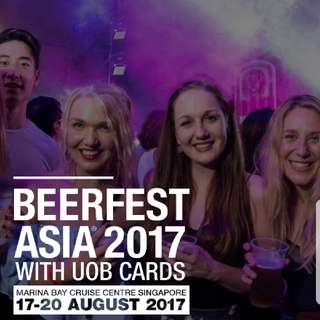 1x Thurs 17 Aug Beerfest Asia