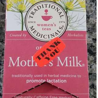 Traditional Medicinals Organic Mother's Milk teabags