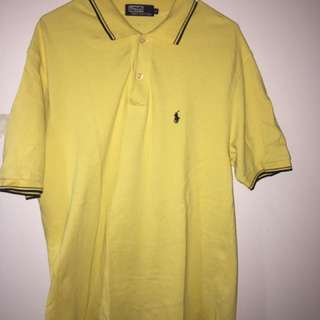 Polo by Ralph Lauren (Yellow) Size XL