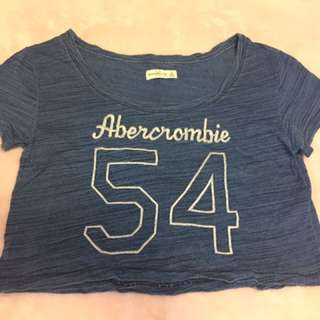 Abercrombie Off Shoulder Crop Top