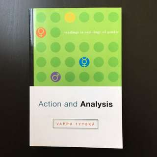Actions and Analysis: Readings In Sociology of Gender by Vappu Tyyska (2006)