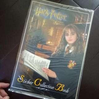 🚚 哈利波特 正版 已絕版 貼紙簿(有兩款)