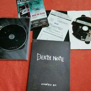Death Note DVD Box Set + 鐵拳浪子 DVD Box Set +林海峰 DVD 非CD