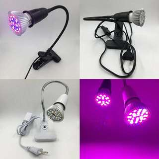 LED Grow Light With Flexible Lamp Holder With Clip Set / Desk Lamp