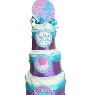 Diaper Cake - Baby Shower
