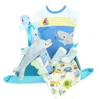 Ocean World Baby Gift Basket